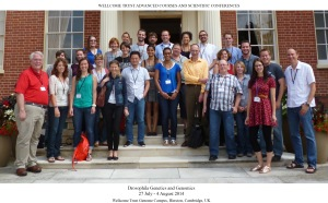 Drosophila  Genetics and Genomics 2014