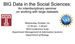 BIG_Data_in_the_social_sciences